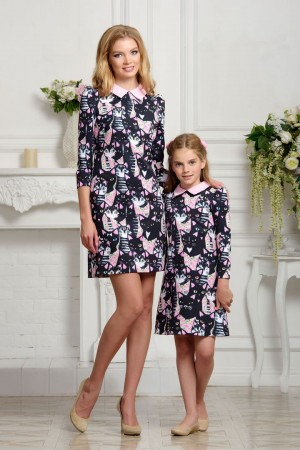 Mother daughter matching dress