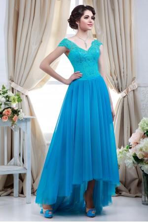 Aqua Blue Vintage dress