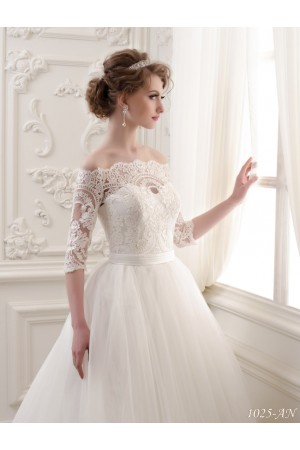 Lace Off Shoulder Wedding Dress