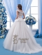 Amazing Cowl Neckline Wedding Dress