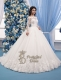 3D Lace Wedding Dress