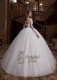 3D flower wedding dress