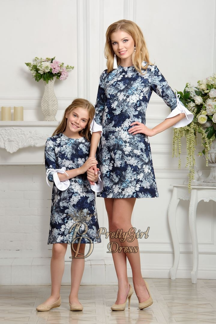 34d3bb03b Mother daughter matching dress - Eline
