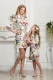 Mommy and daughter floral dress